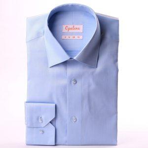 chemise bleu pinpoint